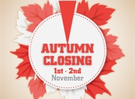 Closure 1st-2nd November